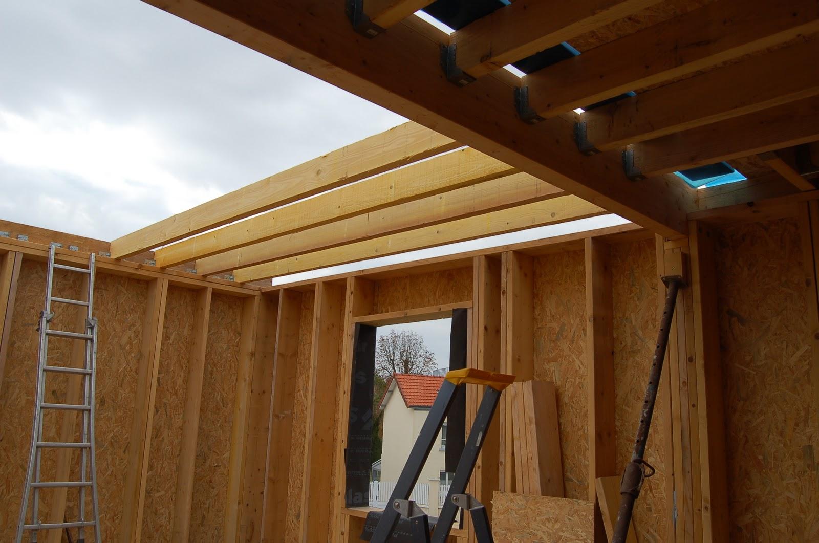 chronique d 39 une construction de maison en paille ossature bois dans la marne la paille pour. Black Bedroom Furniture Sets. Home Design Ideas