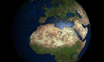 Fan un nou mapa 2-D de la Terra que ofereix una millor perspectiva del món