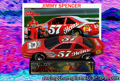 Jimmy Spencer #57 Heinz Racing Champions 1/64 NASCAR diecast blog 1990 Osterlund