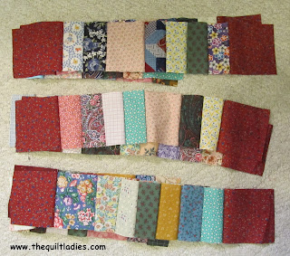 cut and pieced for hankie quilt