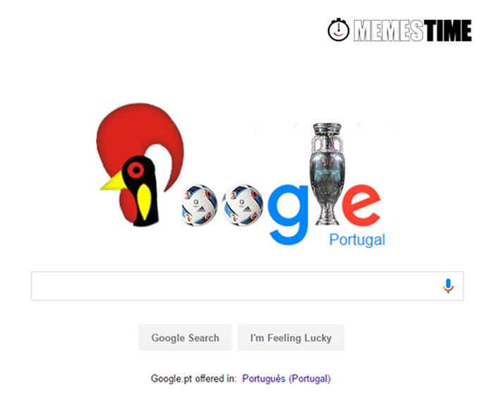 Meme sugestão de Doodle para o Google