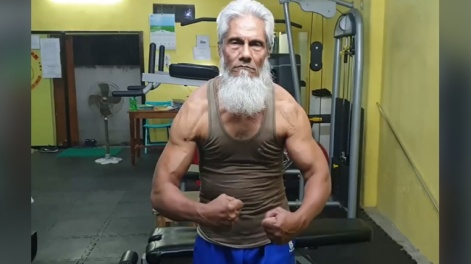72-YEAR-OLD BANGLADESHI BODYBUILDER
