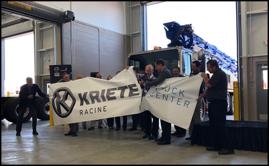 Mack Trucks dealer Kriete Truck Centers invested $6 million in a new building at its Racine, Wisconsin location, doubling the amount of service bays at the facility. The Mack Certified Uptime Dealer location will also add a mezzanine in October to double its parts warehouse capacity.
