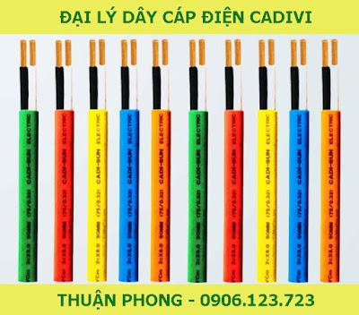 Đại lý dây cáp điện cadivi tại Bình Thuận 100% giá gốc