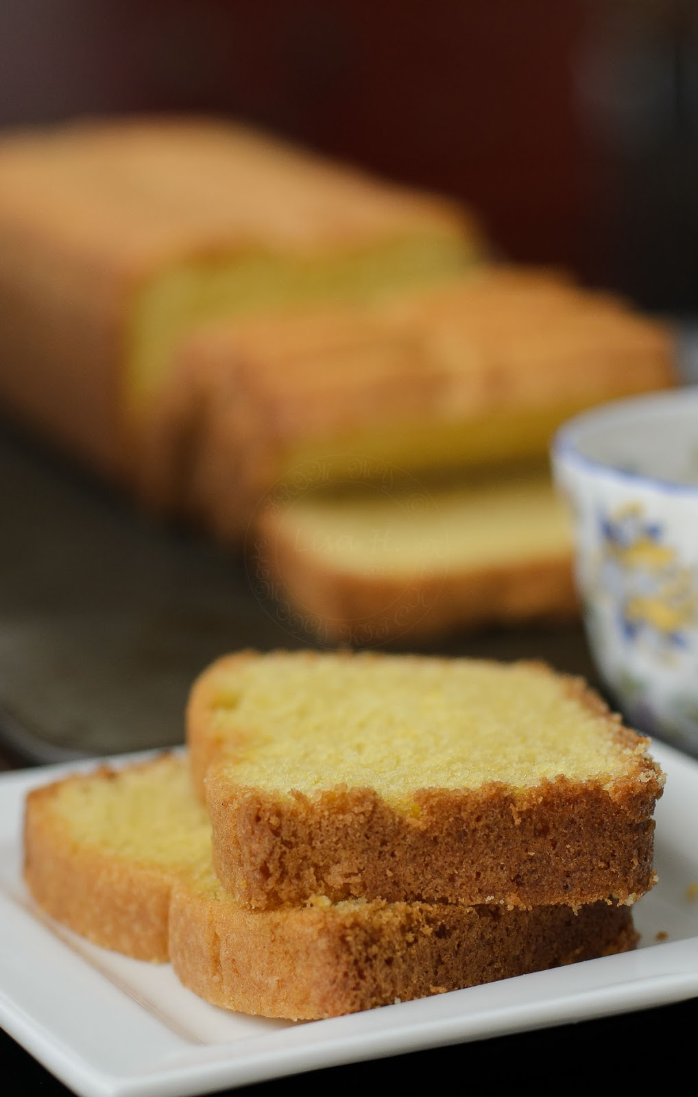Simple and delicious Madeira cake