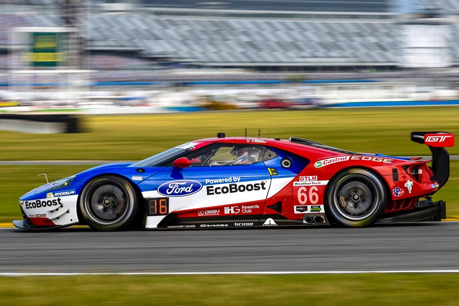 Ford Chip Ganassi Racing Topped Gtlm Again In Daytona Fourth Practice