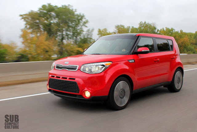 2014 Kia Soul Driving in Minnesota