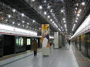 Stasiun kereta bawah tanah Caobao di China yang angker dan menyeramkan