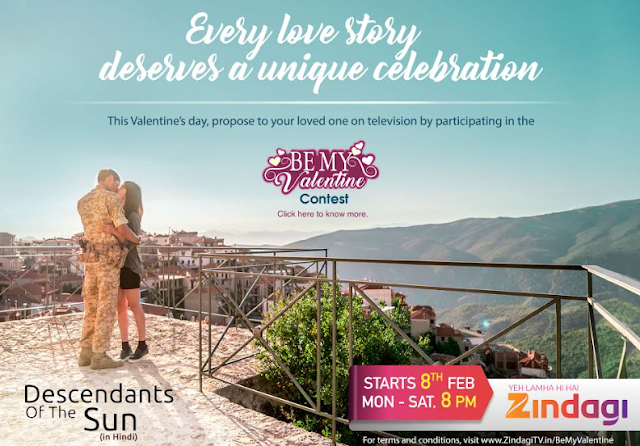 Zindagi Announces 'First South Korean 'Descendants of the Sun' & Be My Valentine Contest'