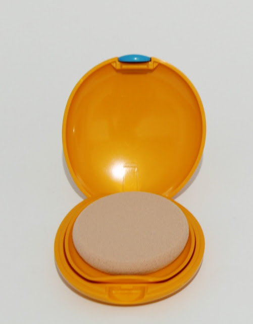 Shiseido Sun fondo de maquillaje compacto spf 6