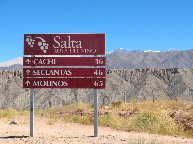 Roteiro do vinho em Salta na Argentina