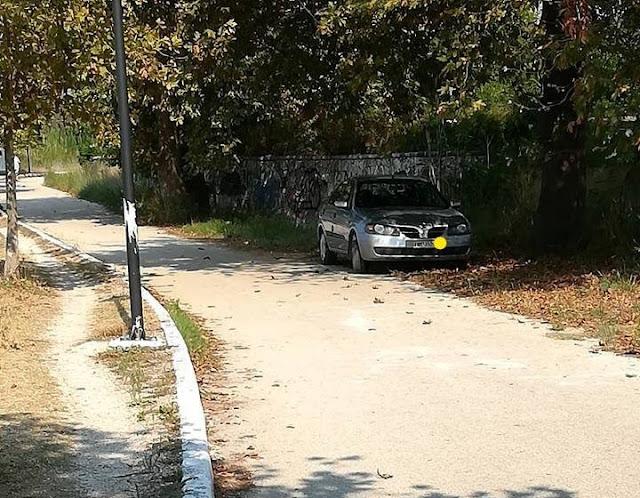 Ηγουμενίτσα: Εξακολουθούν να παρκάρουν μέσα στον πεζόδρομο - ποδηλατόδρομο