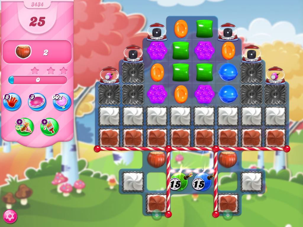 Candy Crush Saga level 3434