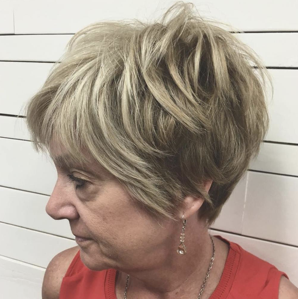 pixie haircuts for women over 50 - latesthairstylepedia