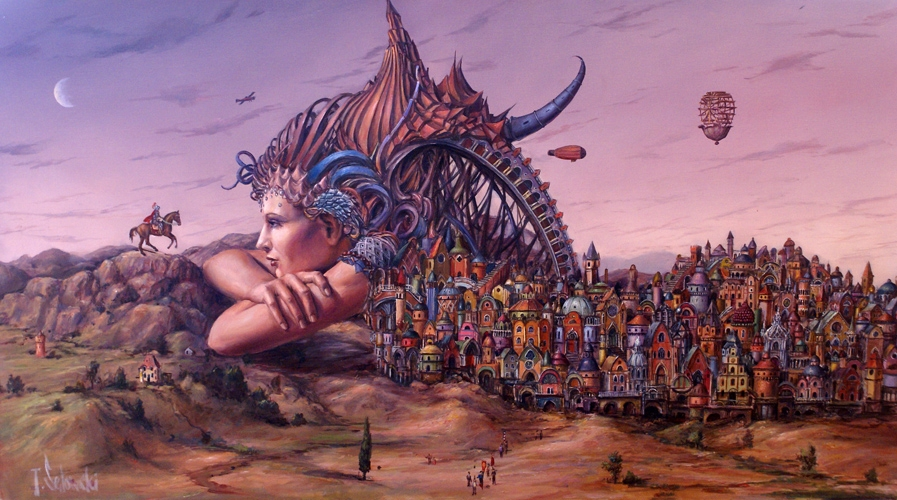 08-Posłaniec-Tomek-Sętowski-Surreal-Oil-Paintings-that-Tell-a-Story-www-designstack-co
