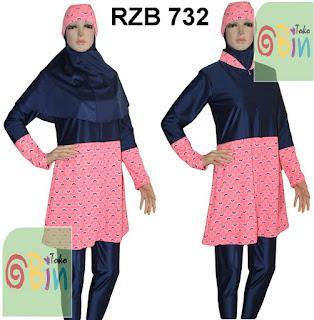 baju renang muslim RZB 732