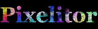 Pixelitor name -spheres 4.- fundo preto
