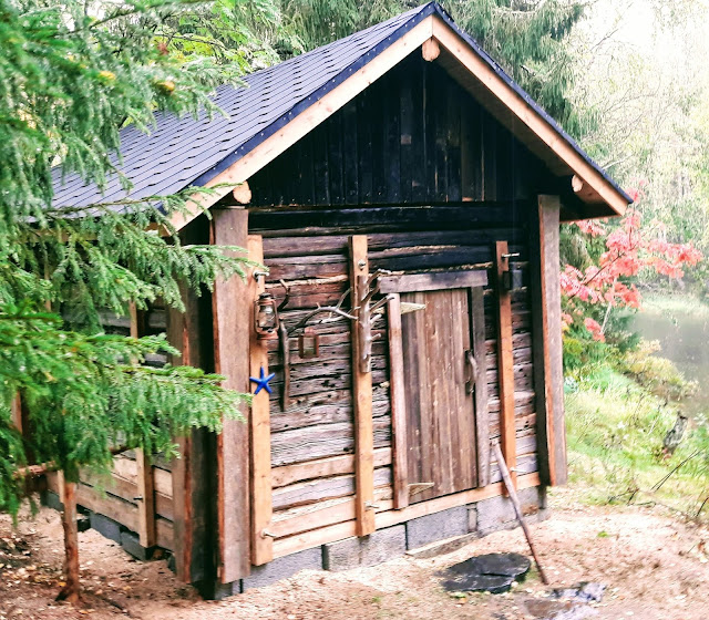 Finnish smokesauna