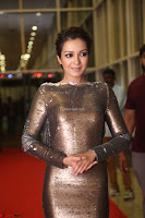 Actress Catherine Tresa in Golden Skin Tight Backless Gown at Gautam Nanda music launchi ~ Exclusive Celebrities Galleries 089.JPG