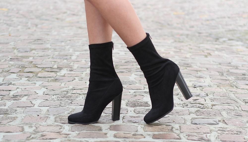 black sock boots public desire