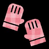 冬のアイコン「手袋」