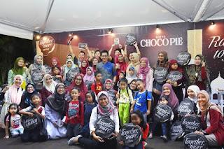 Foto bersama Emak-emak KEB + anak-anak yang ikut acara