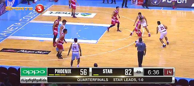 Star Hotshots eliminates Phoenix, 91-71 (REPLAY VIDEO) February 6