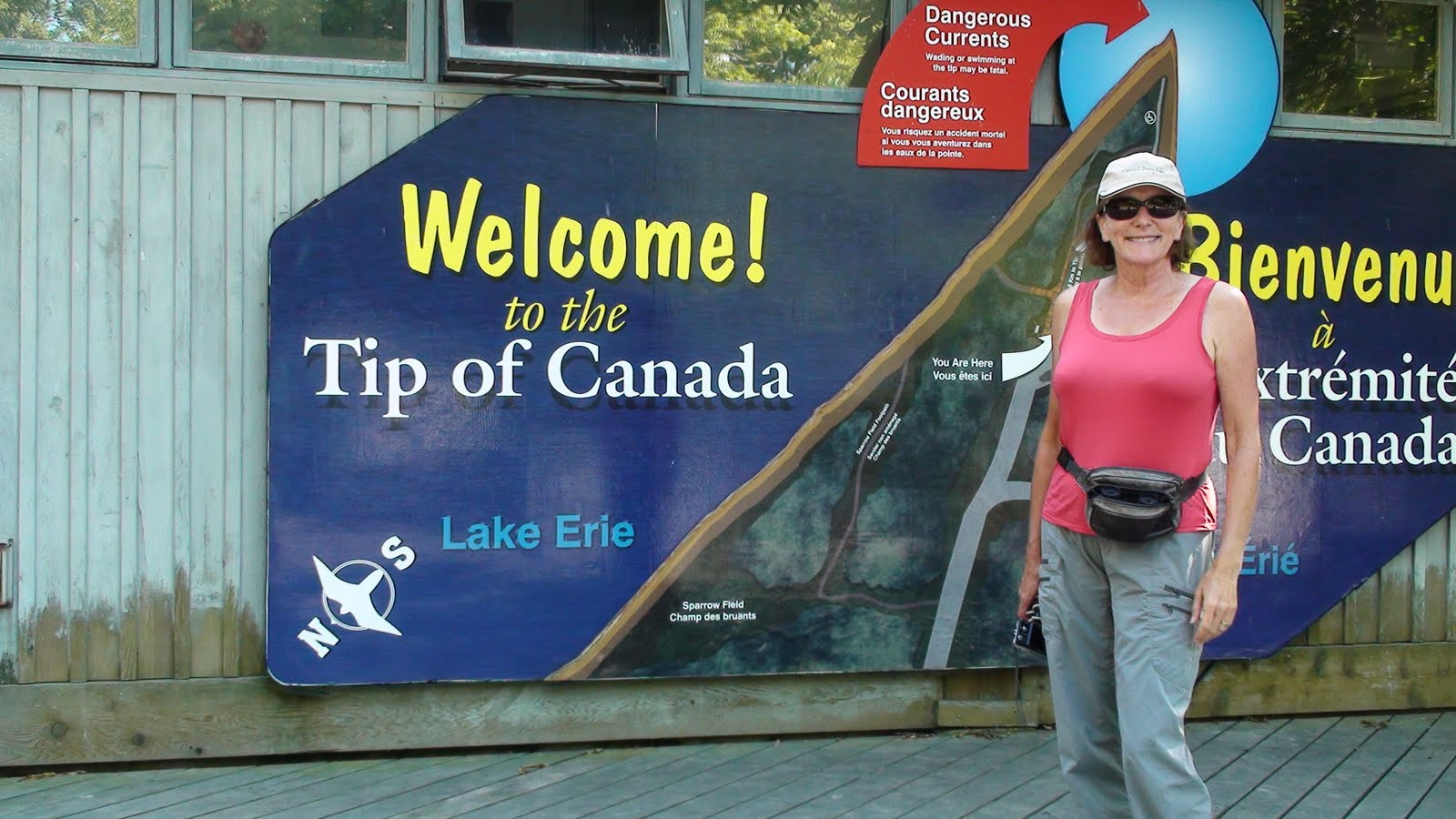 Liz at Point Peele National Park of Canada