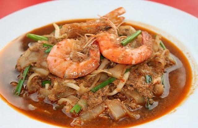 Resepi Kuey Teow Goreng Basah Yang Ringkas