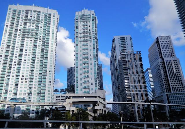 Rascacielos de la zona de Downtown en Miami