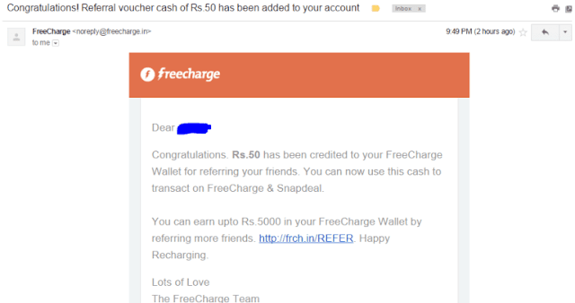frecharge refer and earn loot