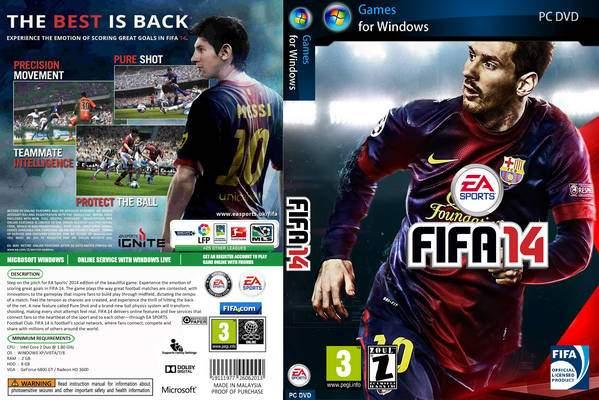 تحميل وتثبيت لعبة FIFA 14 برابط واحد مباشر
