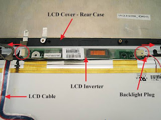Laptop LCD inverter