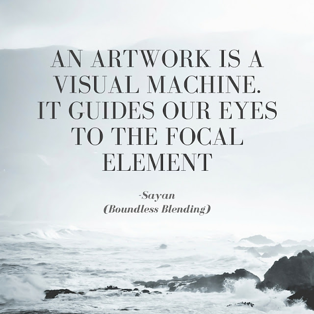 visual arts quote Boundless Blending
