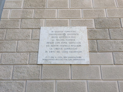 Information about the fascist occupation of the school.