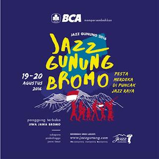 Paket Jazz Gunung Bromo 2016 dan Tiket Online Jazz Bromo