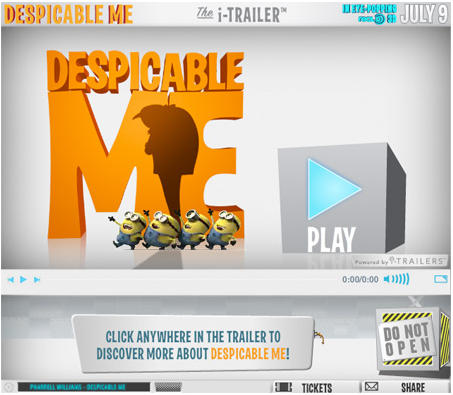 "Despicable Marketing of ""Despicable Me"""