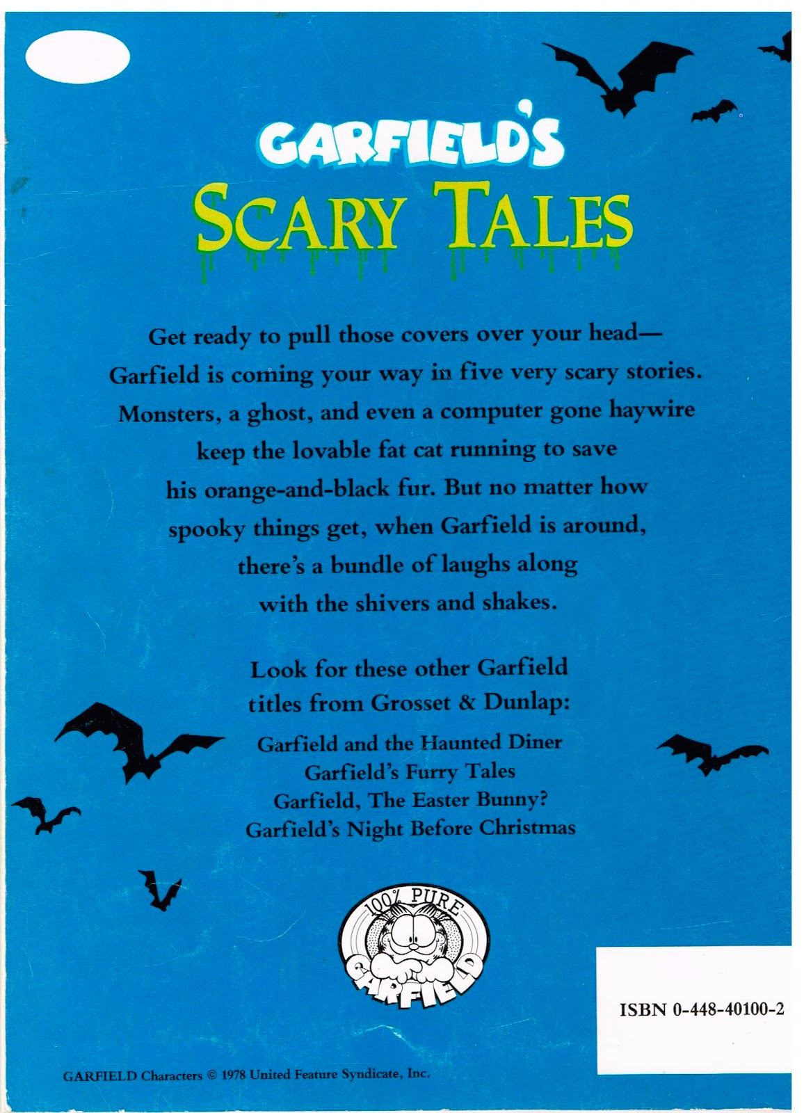 Uncategorized Scary Stories For Little Ones 20 years before 2000 retro reading corner garfields scary tales overall this is not a bad little collection of creepy stories featuring jim davis greatest creation i liked the as kid