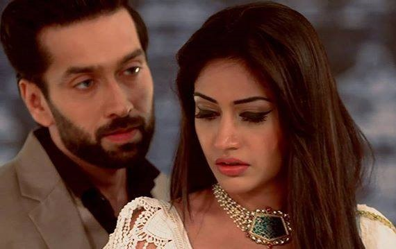 Surbhi Chandna and Nakuul Mehta in Priyamanasam serial on Asianet Plus