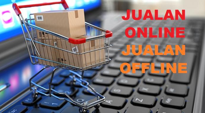 Bedanya jualan Online dengan jualan Offline