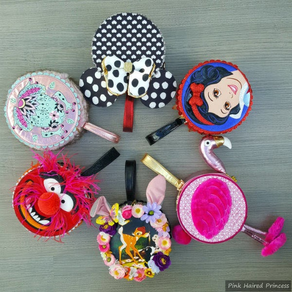 circle of round shaped handbags by Irregular Choice