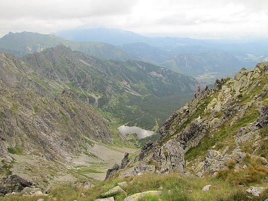 Kołowa Dolina i Kołowy Staw.