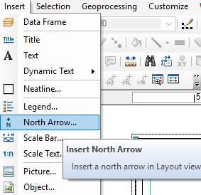 Membuat Template Layout ArcGIS membuat title atau judul
