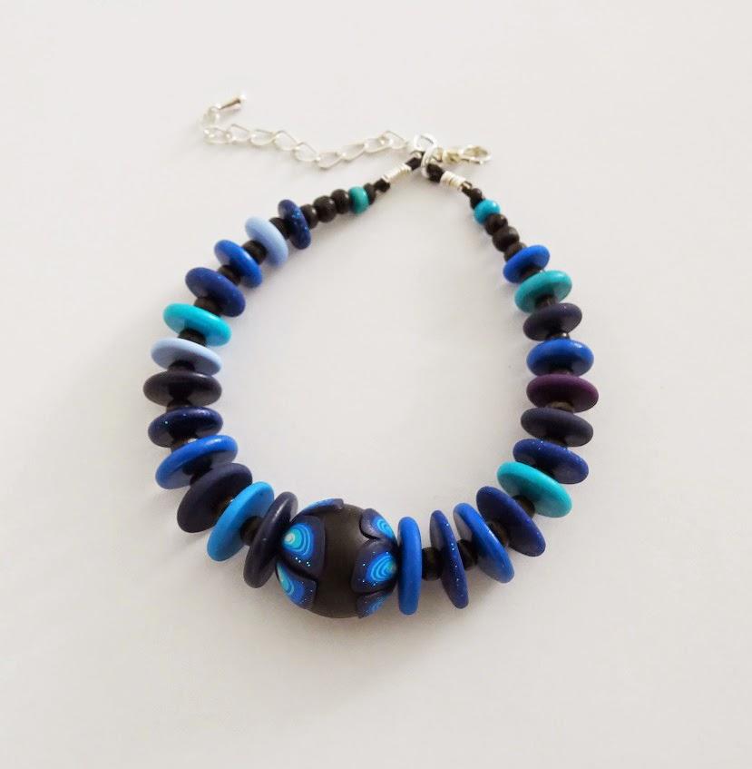 Polymer Clay Charm Bracelet: Ollivine Z Creations: Polymer Clay Bracelets