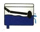 Dibujo: Fuga de agua de la Cisterna