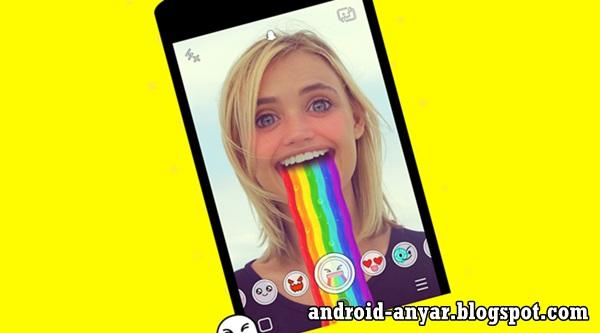 Cara Menggunakan Snapchat Lenses di Android