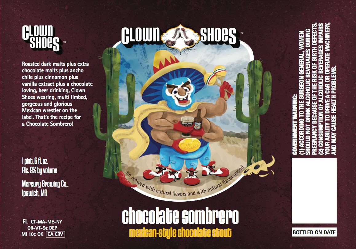 Beer pimpin hobgoblin clown shoes chocolate sombrero clown shoes chocolate sombrero mozeypictures Choice Image