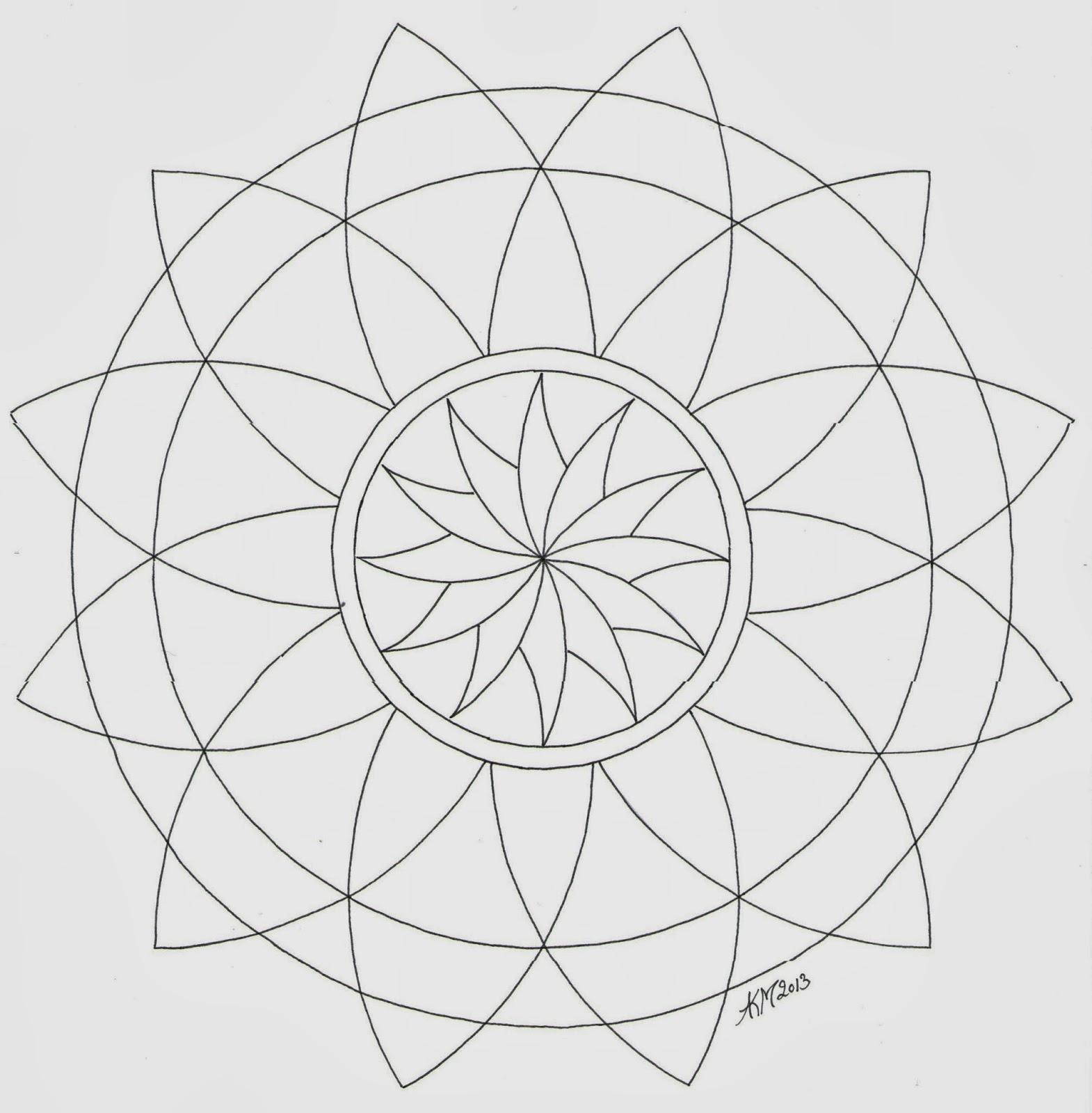 Mandala Atelier: Kleurplaten en Templates