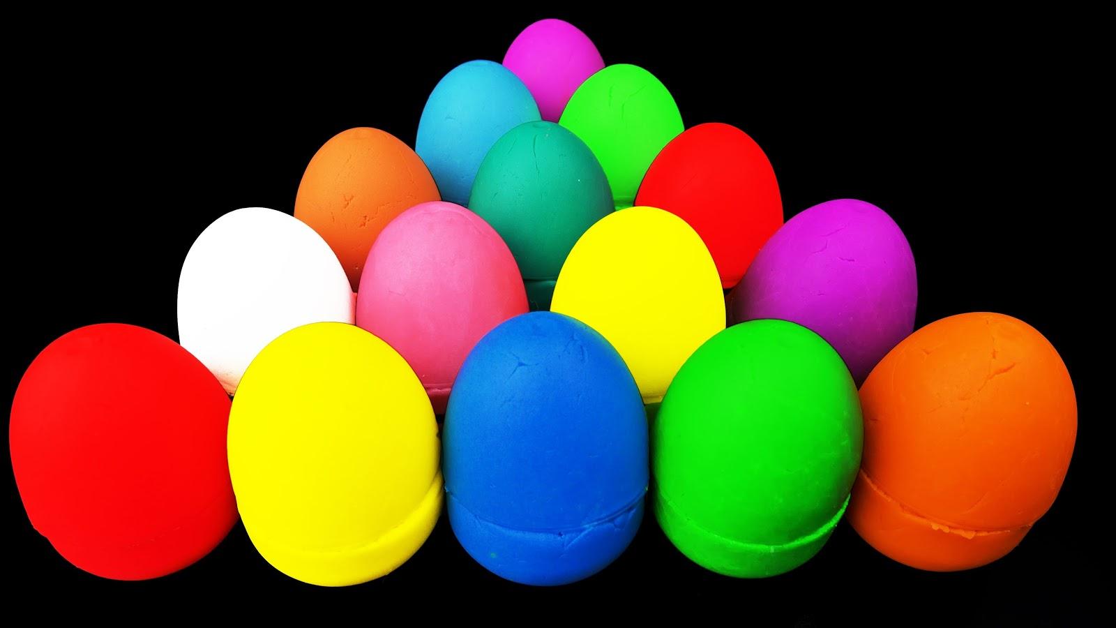 Bạn biết được màu sắc của những quả trứng này không?