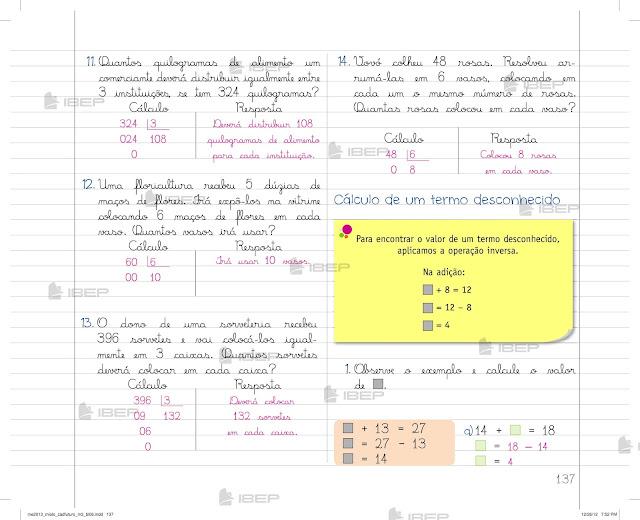 Livro De Matematica 3 Ano Fundamental Pdf